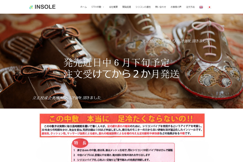 insole-wordpress-business-website