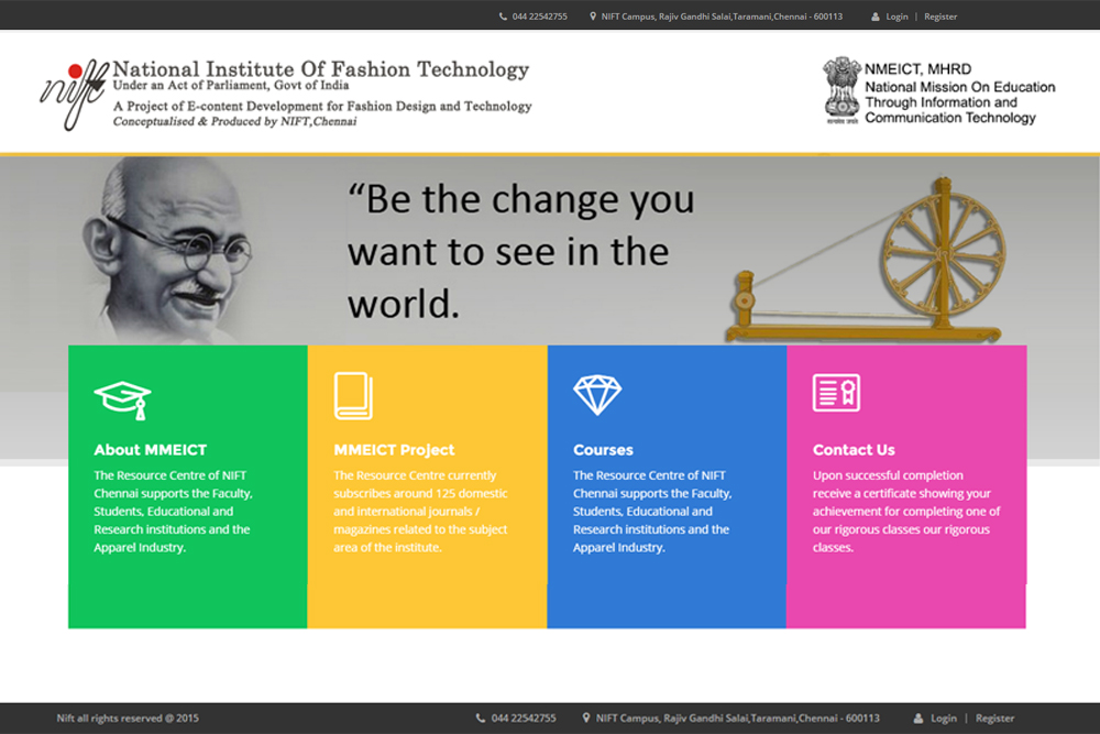 nift-eductaional-website-development-agency
