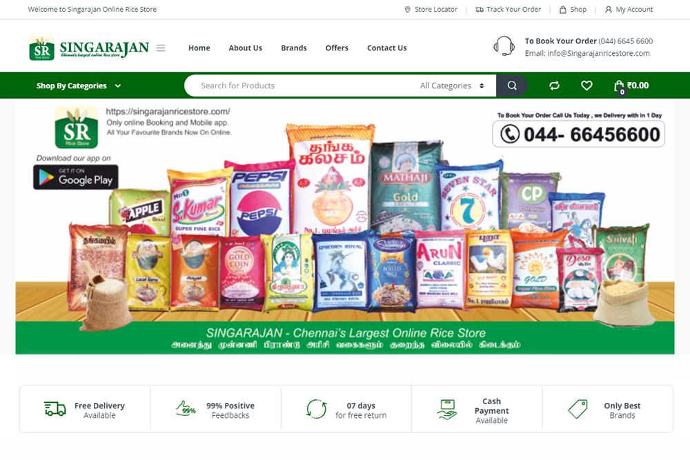 singarajan-woocommerce-website