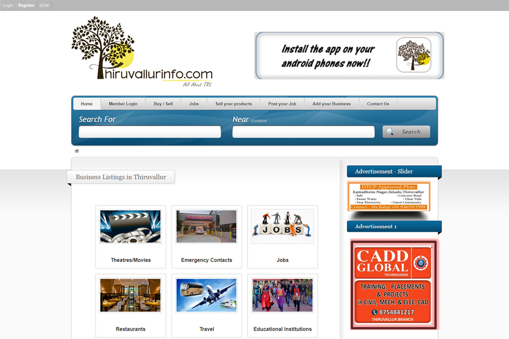 thiruvallurinfo-business-listing-website-development